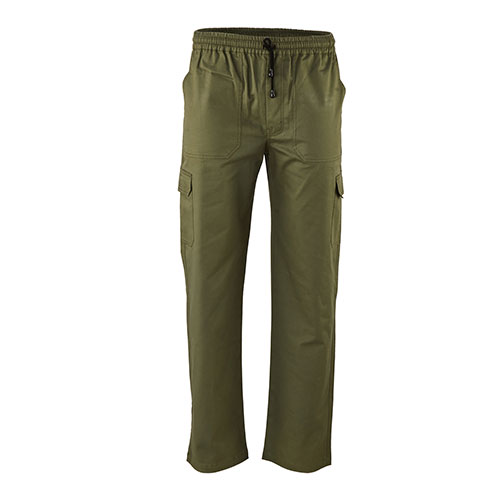 Trouser with Elasticated Waist